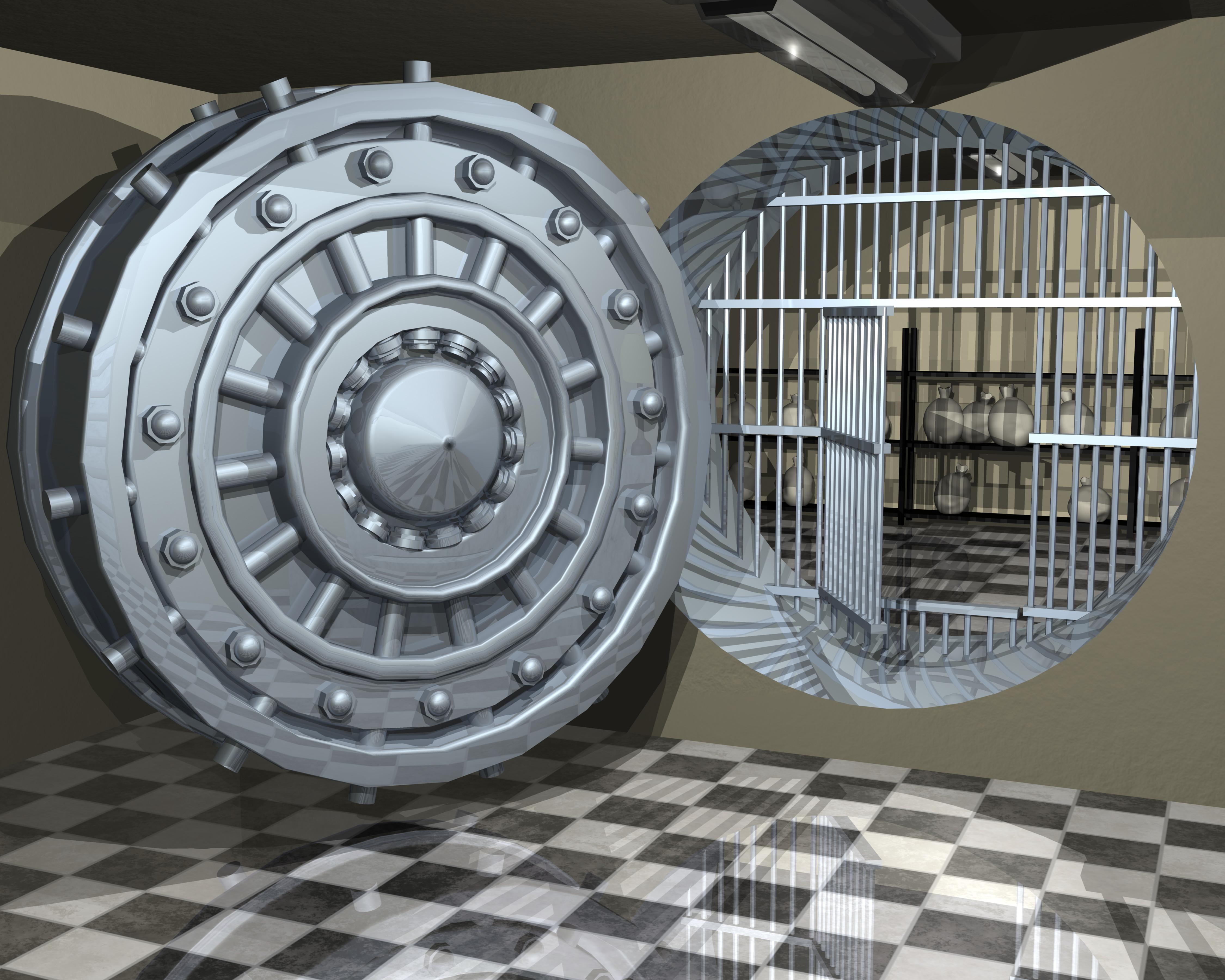 bank safe bank robbery theme insp Pinterest